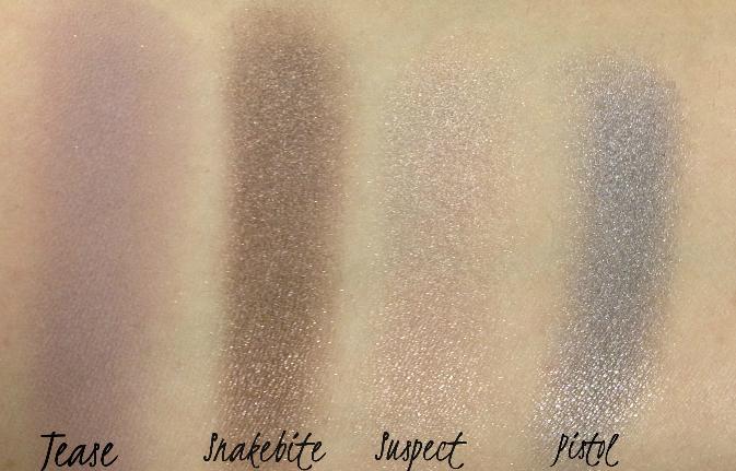 Naked 2 Palette Shades