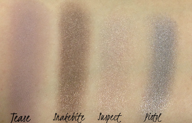 Naked 2 Palette Shades